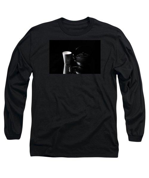 Long Sleeve T-Shirt featuring the photograph Tea Time Soon by Randi Grace Nilsberg