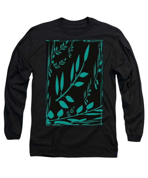 Teal Treasure Long Sleeve T-Shirt