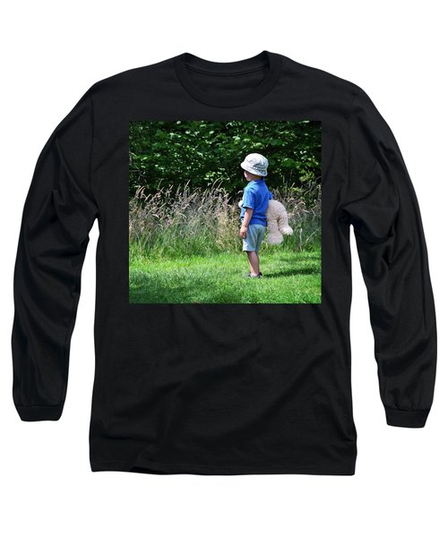 Long Sleeve T-Shirt featuring the photograph Teddy Bear Walk by Keith Armstrong