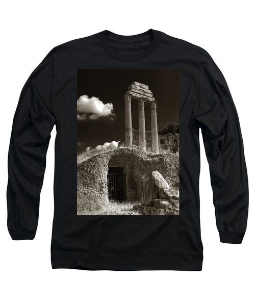 Temple Of Castor And Polux Long Sleeve T-Shirt