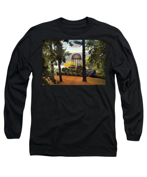 Temple Of Love In Autumn Long Sleeve T-Shirt
