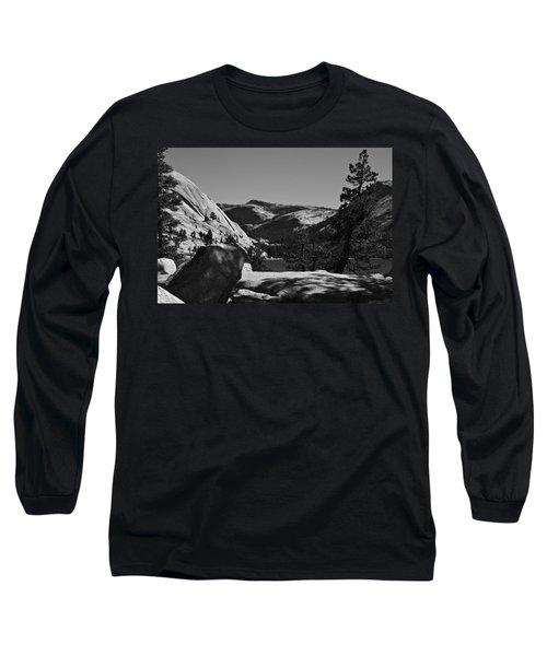 Tenaya Lake In Yosemite Long Sleeve T-Shirt