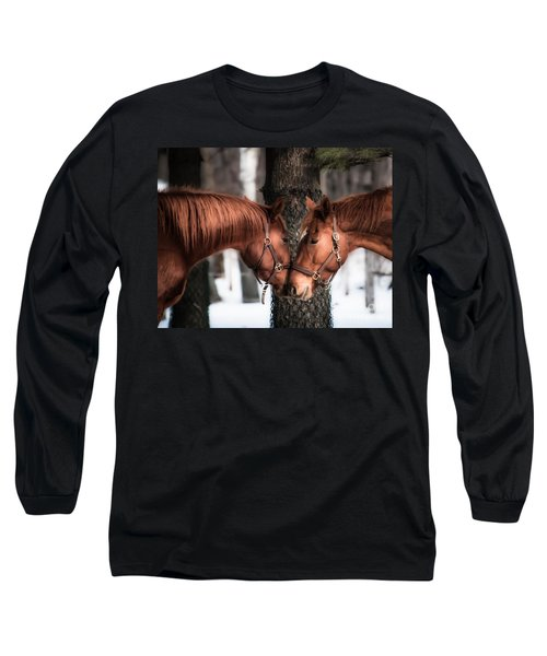 Tenderness Long Sleeve T-Shirt by Bianca Nadeau