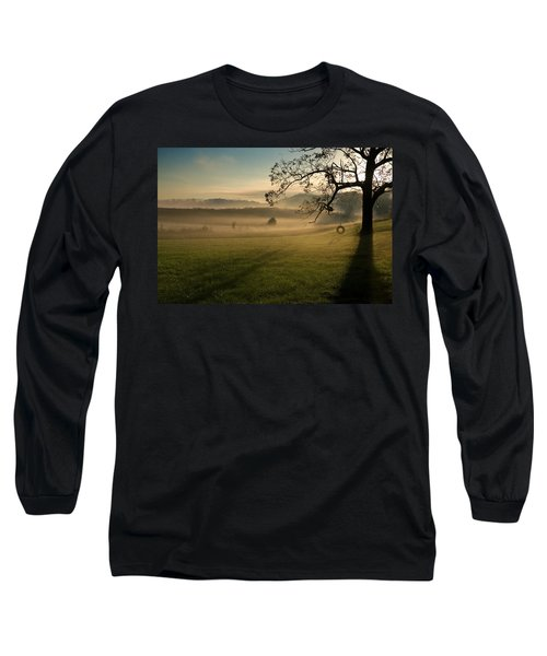 Tennessee Landscape Long Sleeve T-Shirt by Melinda Fawver