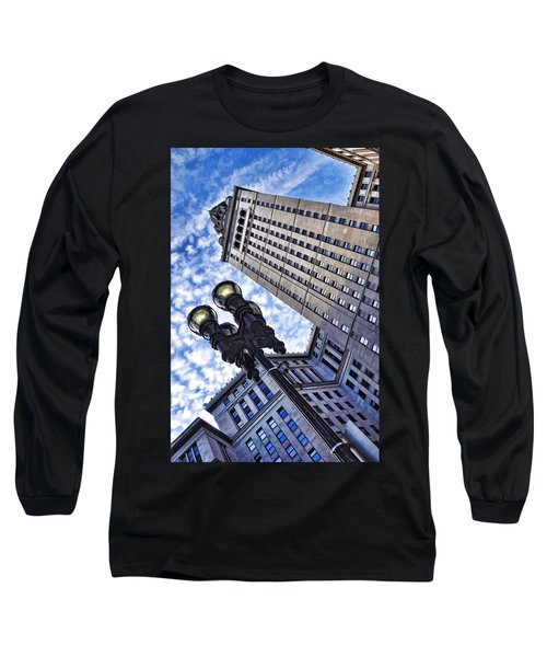 Terminal Tower - Cleveland Ohio - 1 Long Sleeve T-Shirt