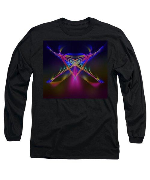 Terrestrial Butterfly Long Sleeve T-Shirt