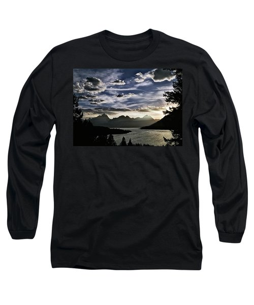 Teton Range Sunset Long Sleeve T-Shirt