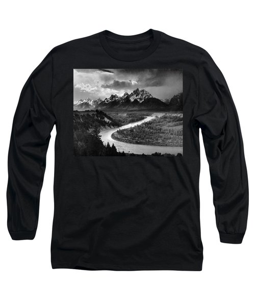 Tetons And The Snake River Long Sleeve T-Shirt