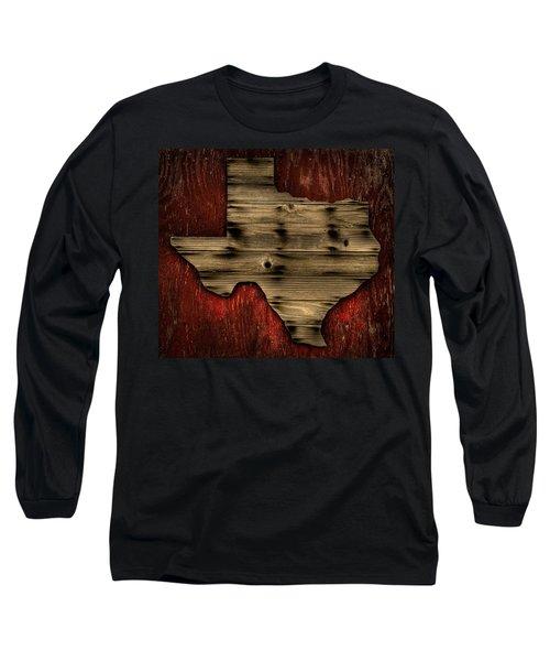 Texas Wood Long Sleeve T-Shirt