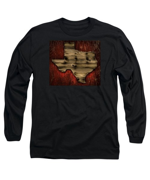 Texas Wood Long Sleeve T-Shirt