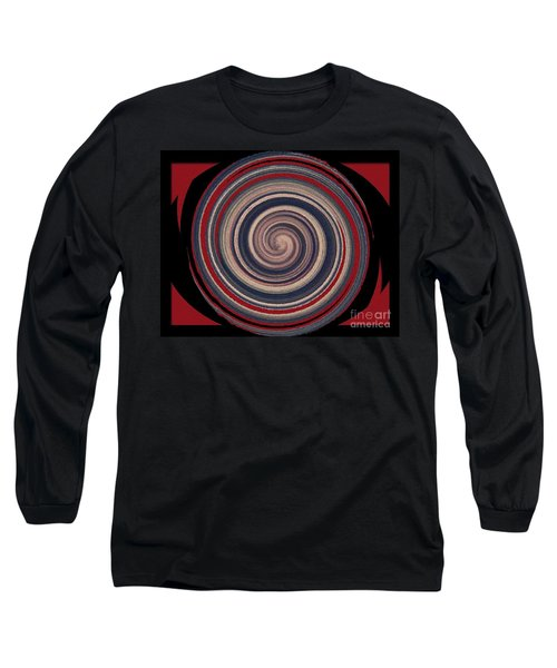 Long Sleeve T-Shirt featuring the digital art Textured Matt Finish by Catherine Lott