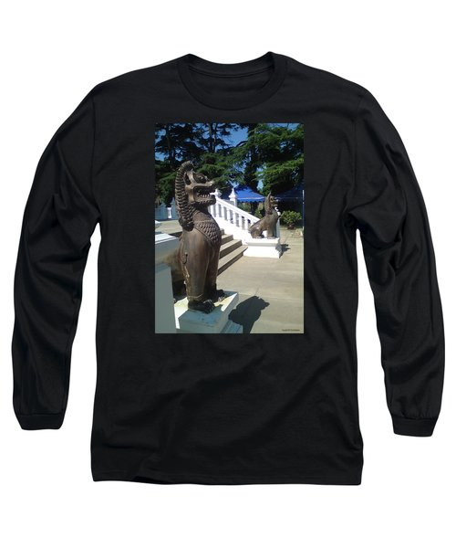 Thai Temple Steps Long Sleeve T-Shirt