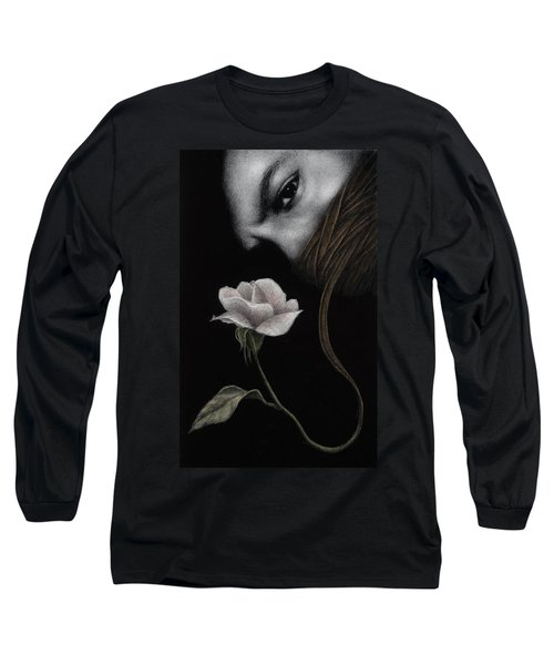 Long Sleeve T-Shirt featuring the painting That Which Will Not Be Silenced by Pat Erickson