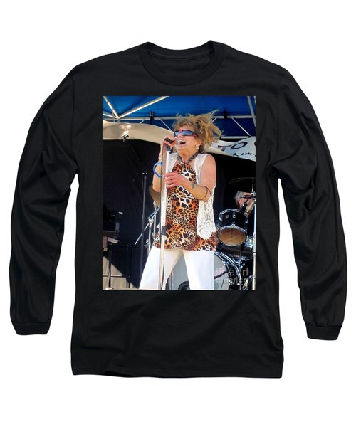 Long Sleeve T-Shirt featuring the photograph The Amazing Lydia Pense by Fiona Kennard