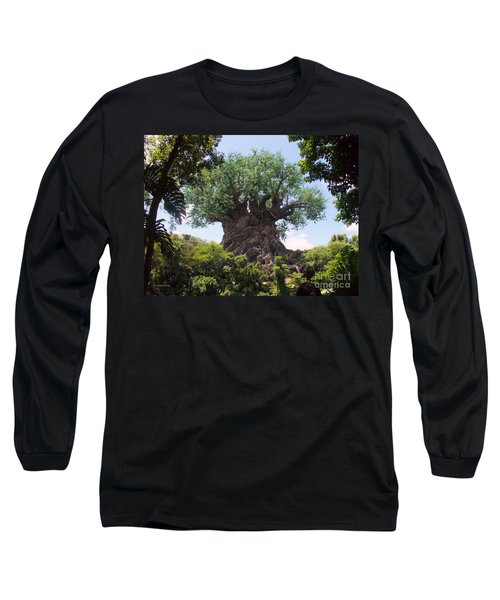 The Amazing Tree Of Life  Long Sleeve T-Shirt by Lingfai Leung