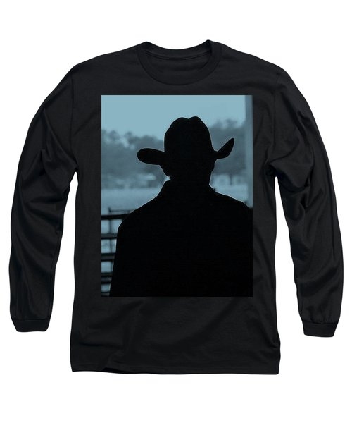 Long Sleeve T-Shirt featuring the photograph The American Cowboy by John Glass