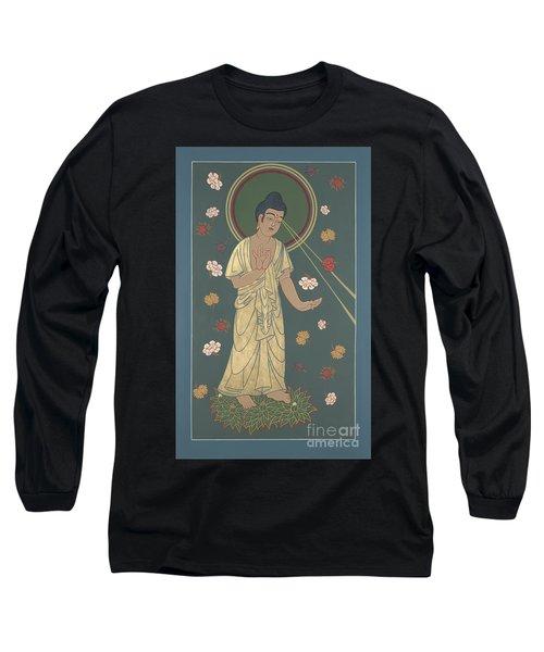 The Amitabha Buddha Descending 247 Long Sleeve T-Shirt