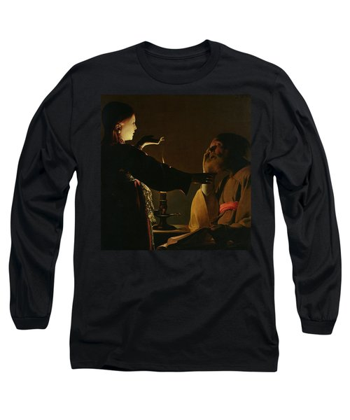 The Appearance Of The Angel To Saint Joseph Long Sleeve T-Shirt