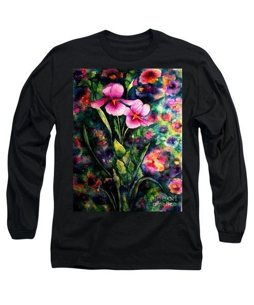 The Aroma Of Grace Long Sleeve T-Shirt by Hazel Holland