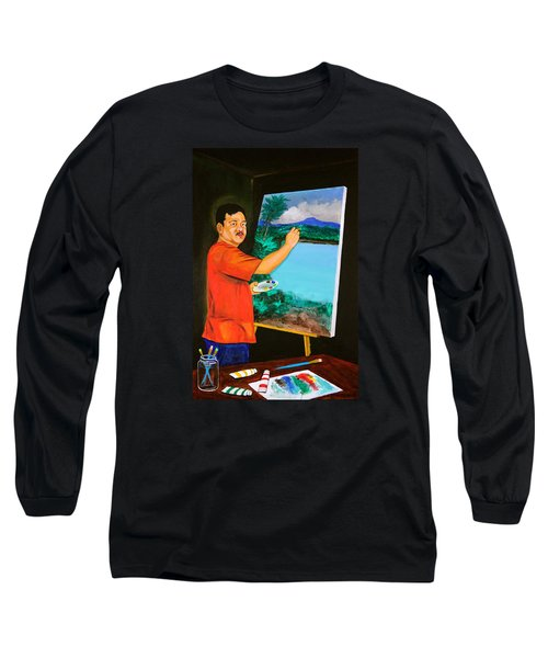 The Artist Long Sleeve T-Shirt by Cyril Maza