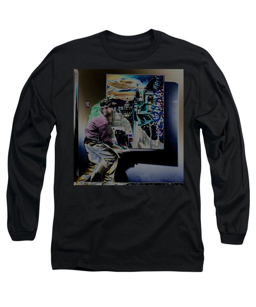 The Artist Paul Emory Long Sleeve T-Shirt