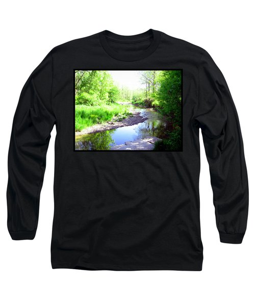 The Babbling Stream Long Sleeve T-Shirt