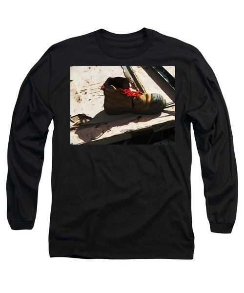 The Ballet Boot Long Sleeve T-Shirt by Steve Taylor