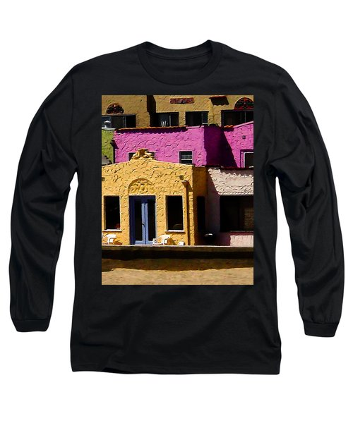 Long Sleeve T-Shirt featuring the photograph The Beach House by Jim Thompson