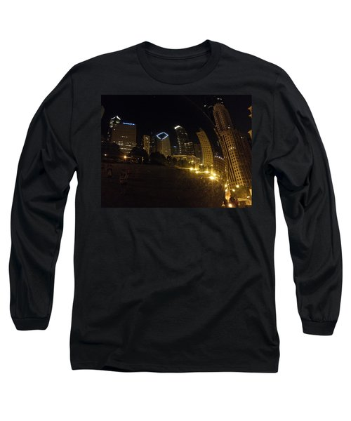 Long Sleeve T-Shirt featuring the photograph The Bean by Tiffany Erdman