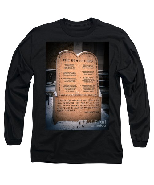 The Beatitudes Long Sleeve T-Shirt