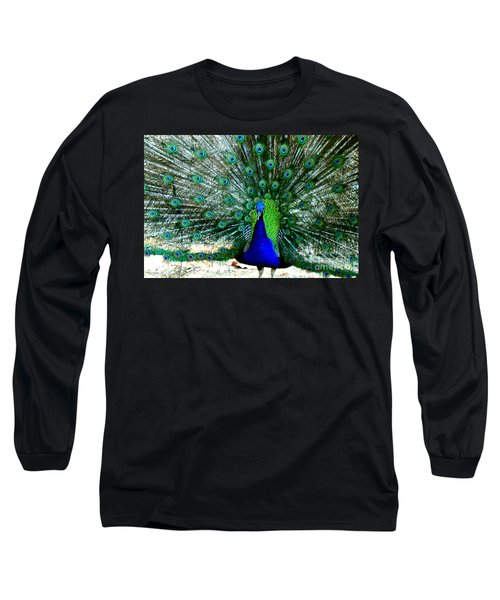 Long Sleeve T-Shirt featuring the photograph The Beautiful Plumage by Kathy  White
