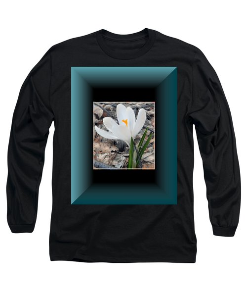The Beautiful Single Crocus Long Sleeve T-Shirt