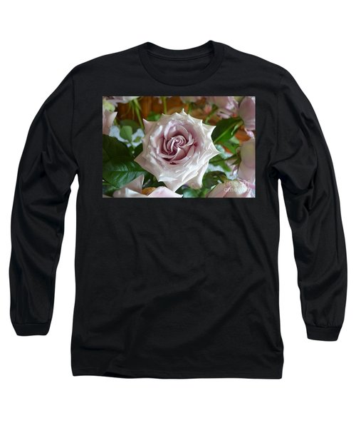 Long Sleeve T-Shirt featuring the photograph The Beauty Of A Flower by Jim Fitzpatrick
