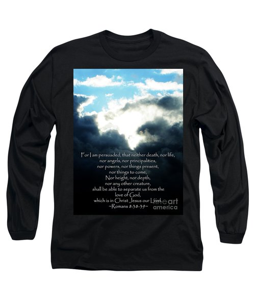 The Bible Romans 8 Long Sleeve T-Shirt