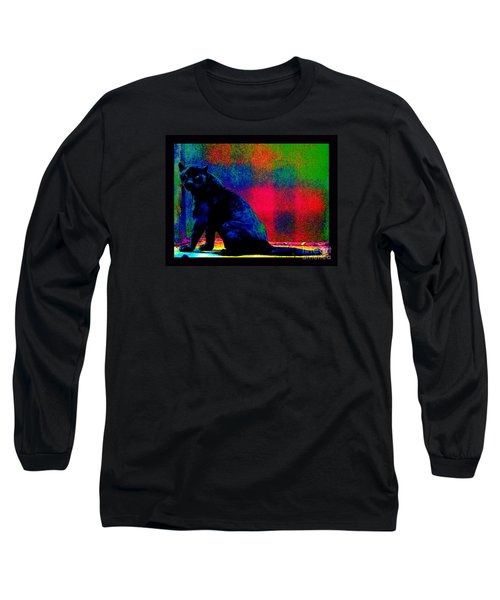 The Blue Jaguar Long Sleeve T-Shirt by Susanne Still