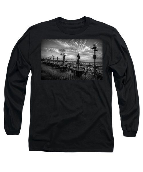 The Boardwalk Long Sleeve T-Shirt by Linda Unger