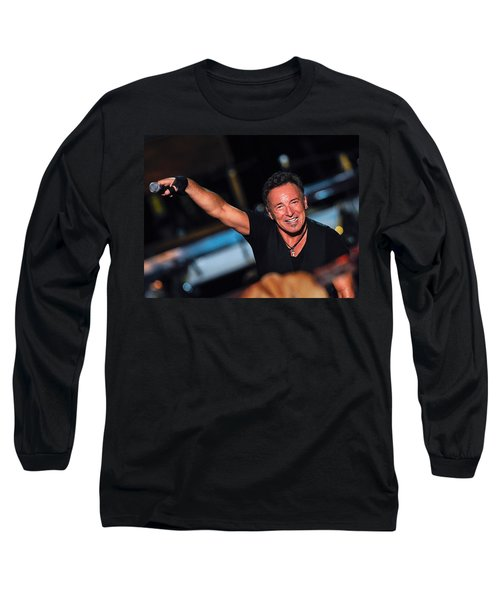 The Boss Long Sleeve T-Shirt by Rafa Rivas