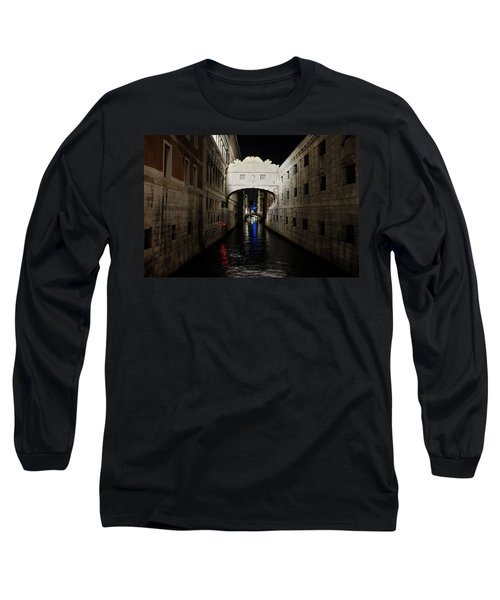 The Bridge Of Sighs Long Sleeve T-Shirt