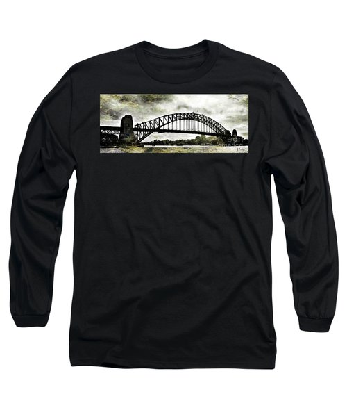 The Bridge Spattled Long Sleeve T-Shirt