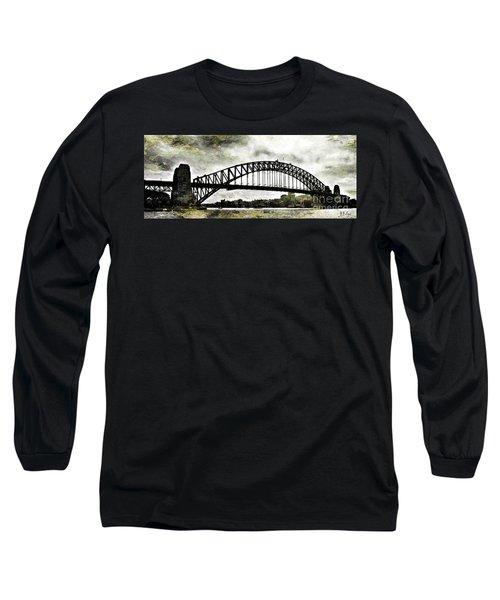 The Bridge Spattled Long Sleeve T-Shirt
