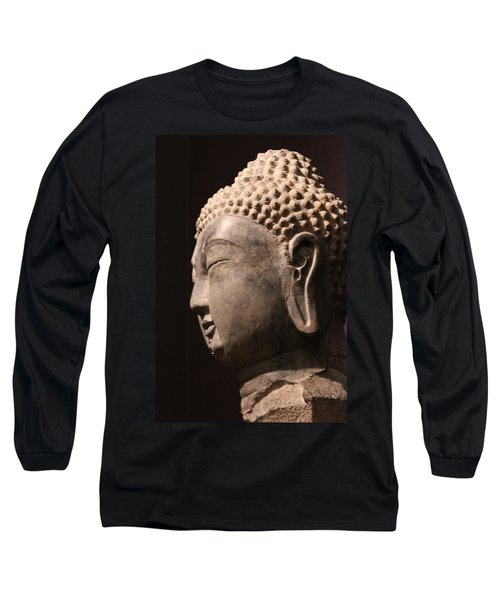 Long Sleeve T-Shirt featuring the photograph The Buddha 2 by Lynn Sprowl