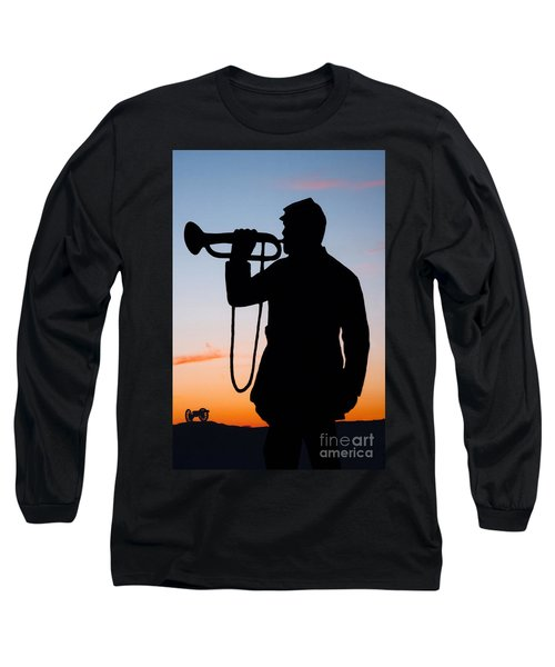 The Bugler Long Sleeve T-Shirt by Karen Lee Ensley