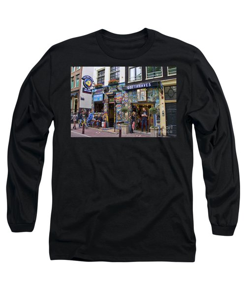 The Bulldog Coffee Shop - Amsterdam Long Sleeve T-Shirt