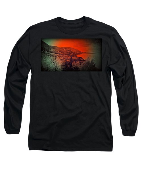 The Cabot Trail Long Sleeve T-Shirt by Jason Lees