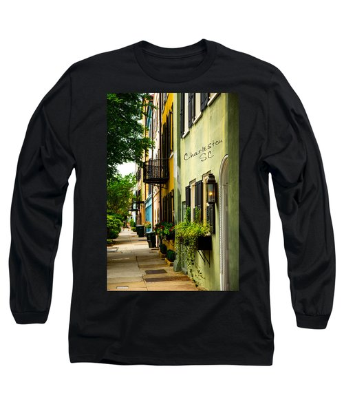 The Charm Of Charleston Long Sleeve T-Shirt by Karol Livote