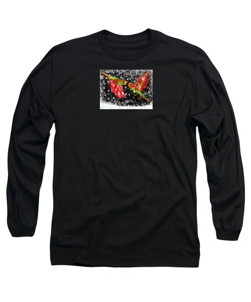 The Christmas Keets Long Sleeve T-Shirt by Jean Pacheco Ravinski