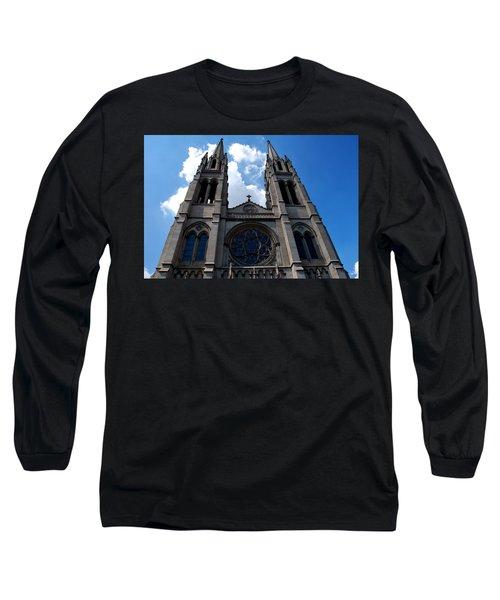 The Church Long Sleeve T-Shirt by Matt Harang