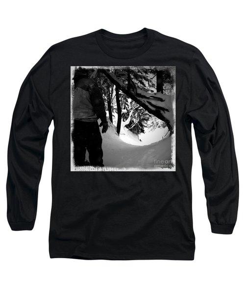 The Chute Long Sleeve T-Shirt by James Aiken