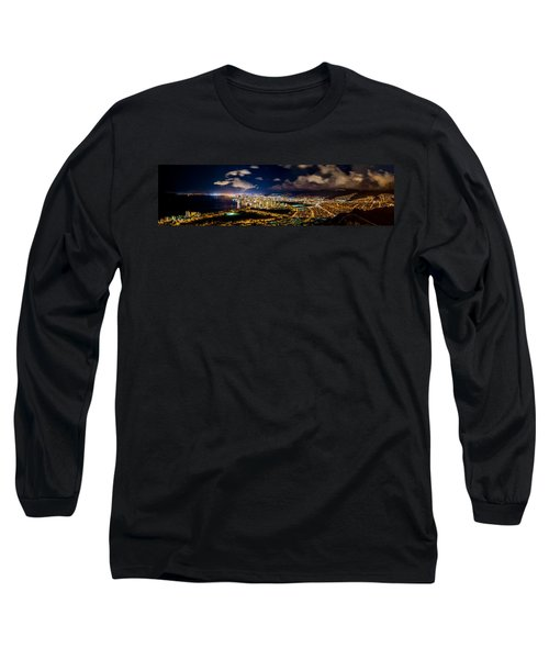 The City Of Aloha Long Sleeve T-Shirt