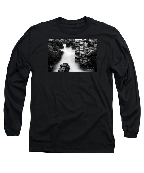 Long Sleeve T-Shirt featuring the photograph The Cliffs by Gunnar Orn Arnason